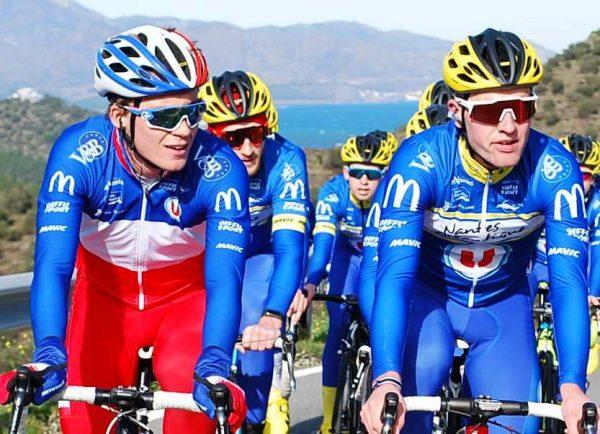 Valentin Madouas et Jules Roueil au Tour La Provence