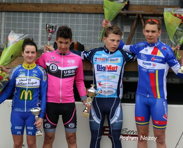 Féminines – Premier podium pour Léonie Aulnette à Nozay