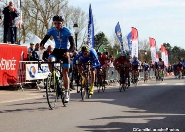Clément Aulnette second sur Les Essarts-Olonne