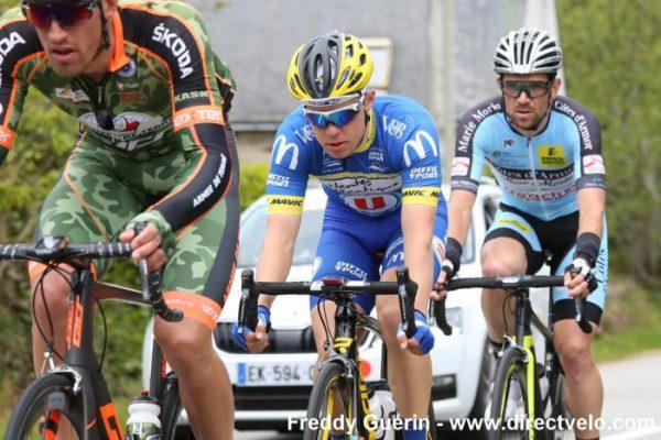 Tour de Bretagne – Kévin Perret second à Saint-Gildas-des-Bois