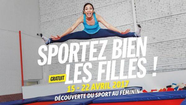 L'UCNA avec «Sportez Bien les Filles!» le vendredi 21 avril au miroir d'eau