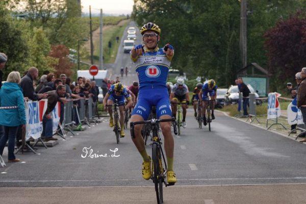 Victoire de Valentin Bricaud au Landreau.
