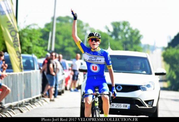 Première victoire pour Enzo Pouvreau à Laubrières (53)