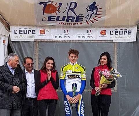 Tour de l'Eure – Classement du meilleur jeune pour Louis Barré