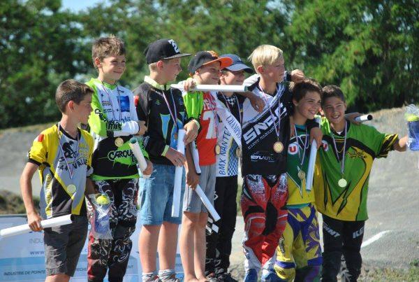 Championnat 44 BMX – Oscar Laurent titré et podium pour Hyacinthe Bernard