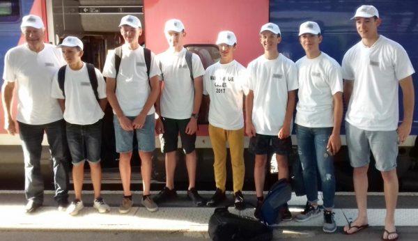 Une équipe Loire-Atlantique au départ du Tour Cycliste Cadets en Martinique