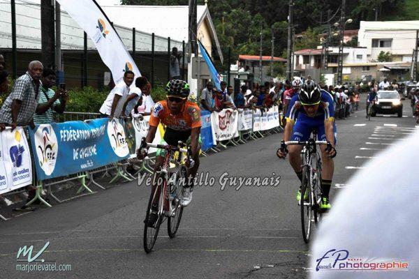 Ronan Voisin 3e de la dernière étape sur le Tour des Cadets en Martinique