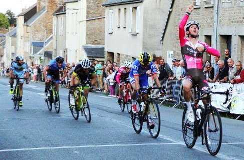 Clément Mary second du critérium d'Avranches