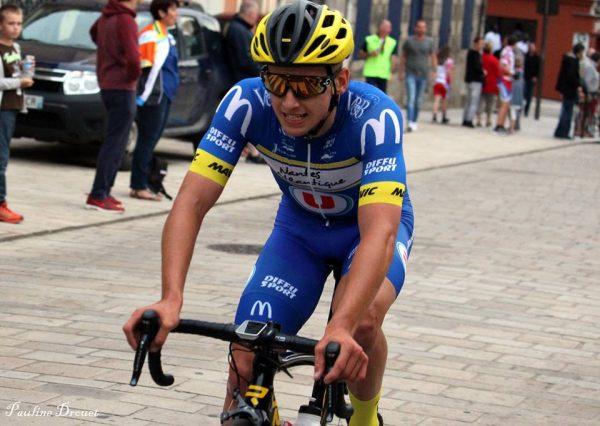 Victoire de Louis Roquain à Trun (61)