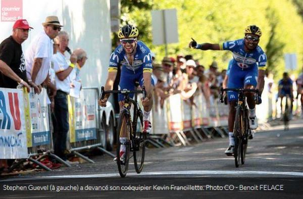 Tour des Deux-Sèvres # 3 – Victoire pour Stéphen Guével devant Kévin Francillette
