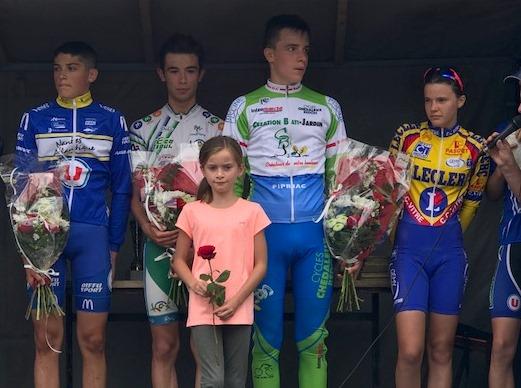 Enzo Pouvreau 3e à Puceul Le Châtelier