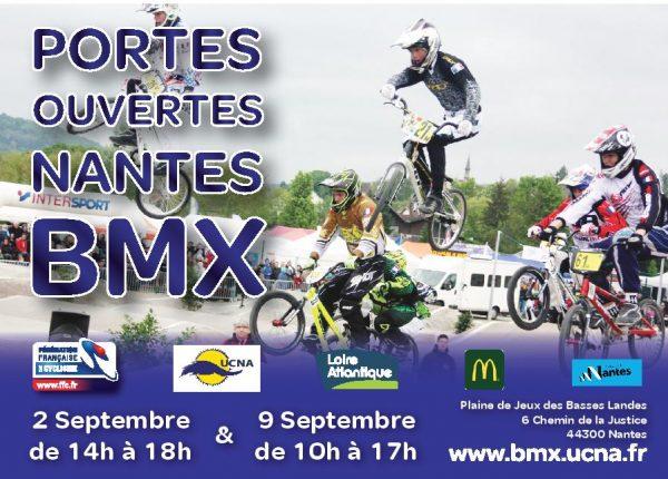 Journées portes ouvertes BMX 2 et 9 septembre