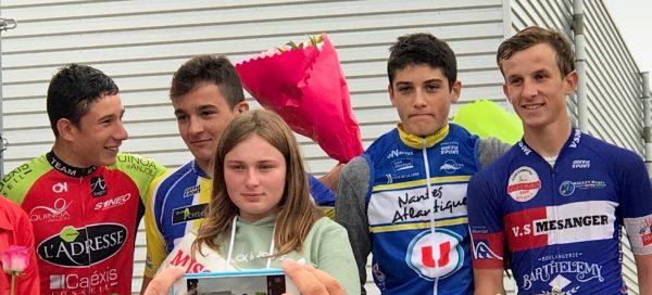 Enzo Pouvreau 3e à Couffé et sur le Challenge d'Ancenis