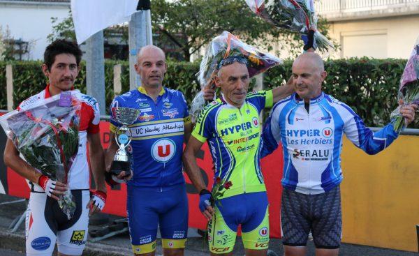Nant'Est Entreprises : Victoire au sprint de Jean-Luc Perrin