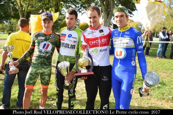 Premiers podiums cyclo-cross pour Freddie Guilloux