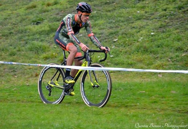 Maxime Bonsergent au Team U Nantes Atlantique