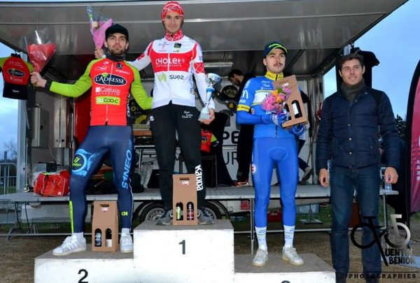 Cyclo-cross Angers Lac de Maine – Adrien Leboucher 3e